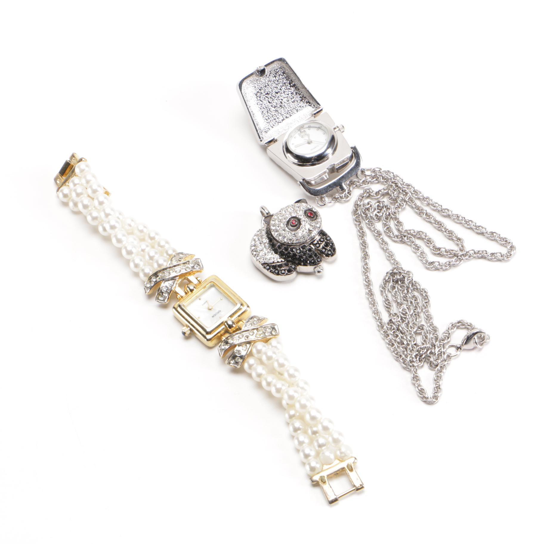 Womenu0027s Costume Jewelry Watches Including Gruen ...  sc 1 st  EBTH.com & Womenu0027s Costume Jewelry Watches Including Gruen : EBTH