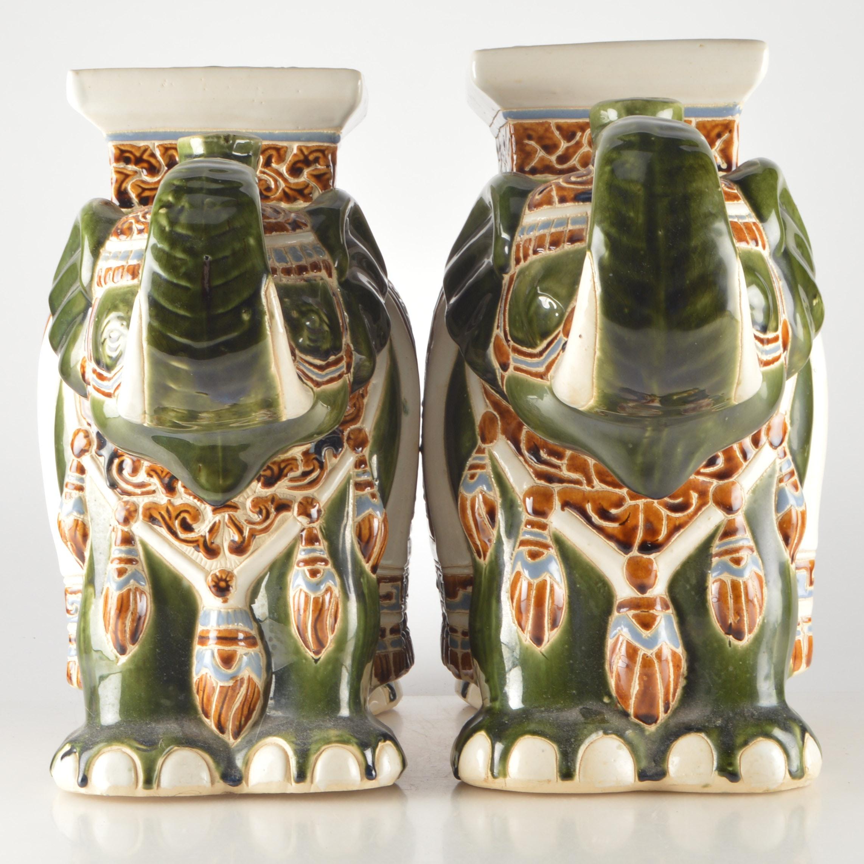 Chinese Decorative Elephants