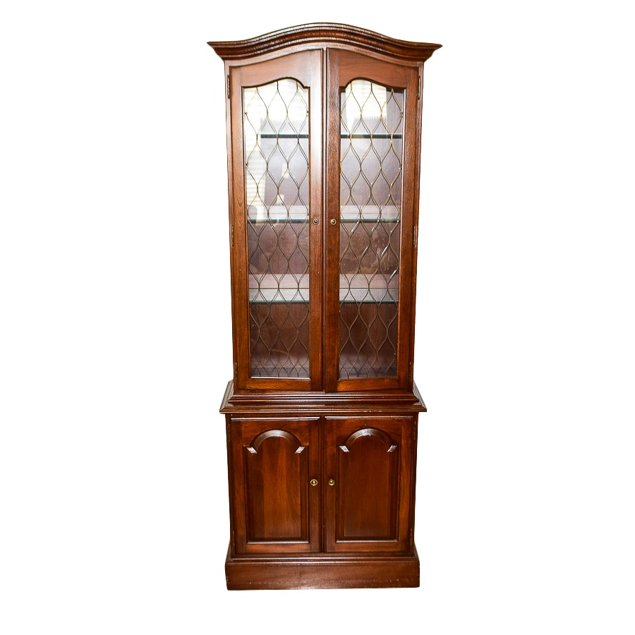 Small Wooden China Cabinet