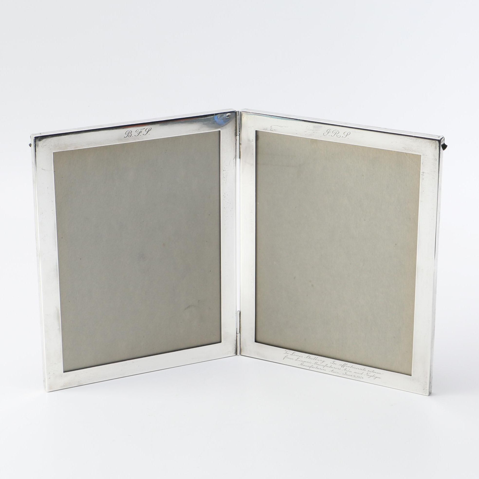 Sterling Silver Double Picture Frame ...