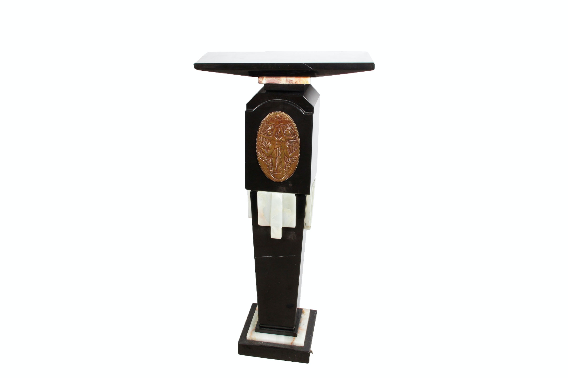 Art Deco Marble Accent Table