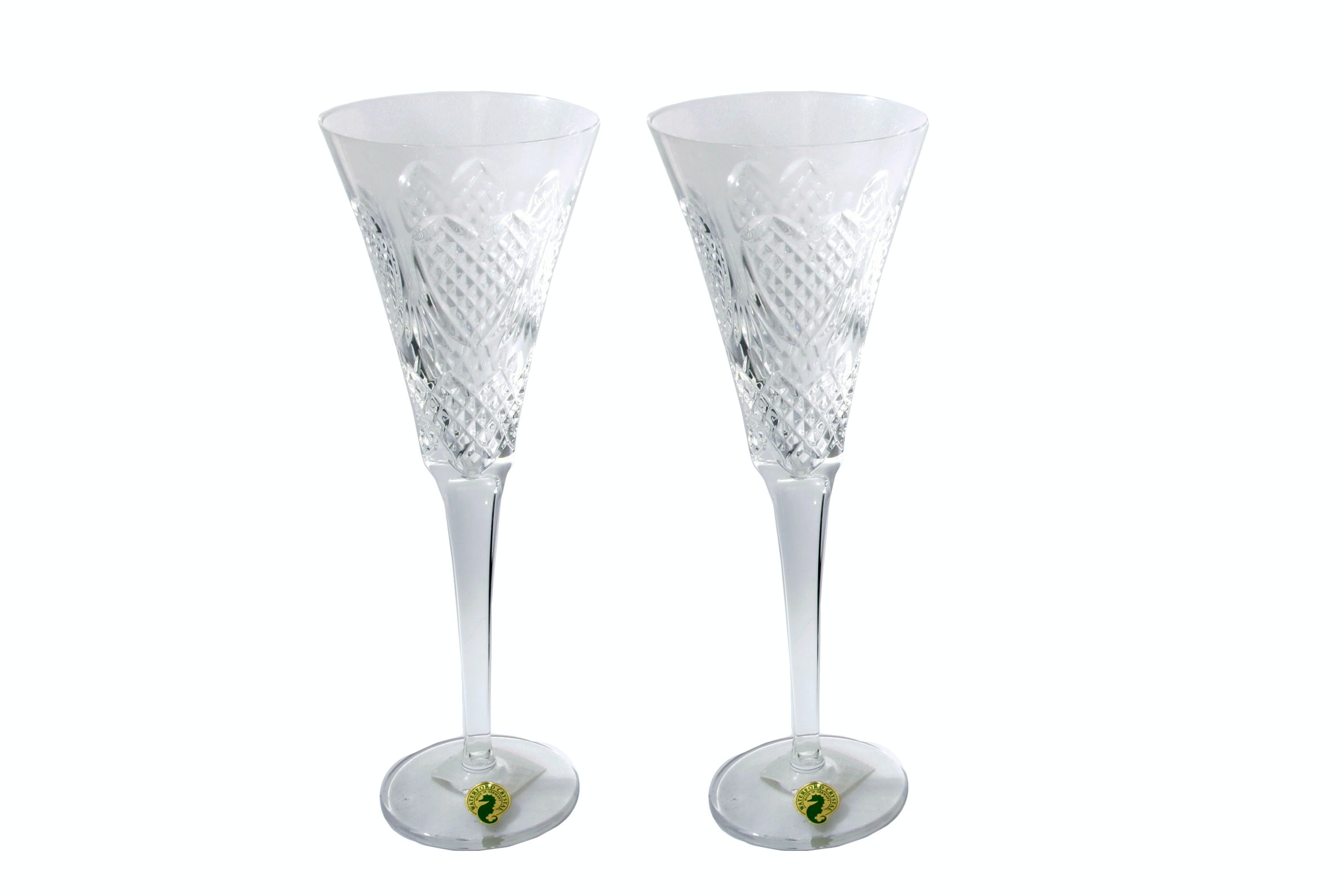 Waterford Celebration Collection Love Champagne Flutes