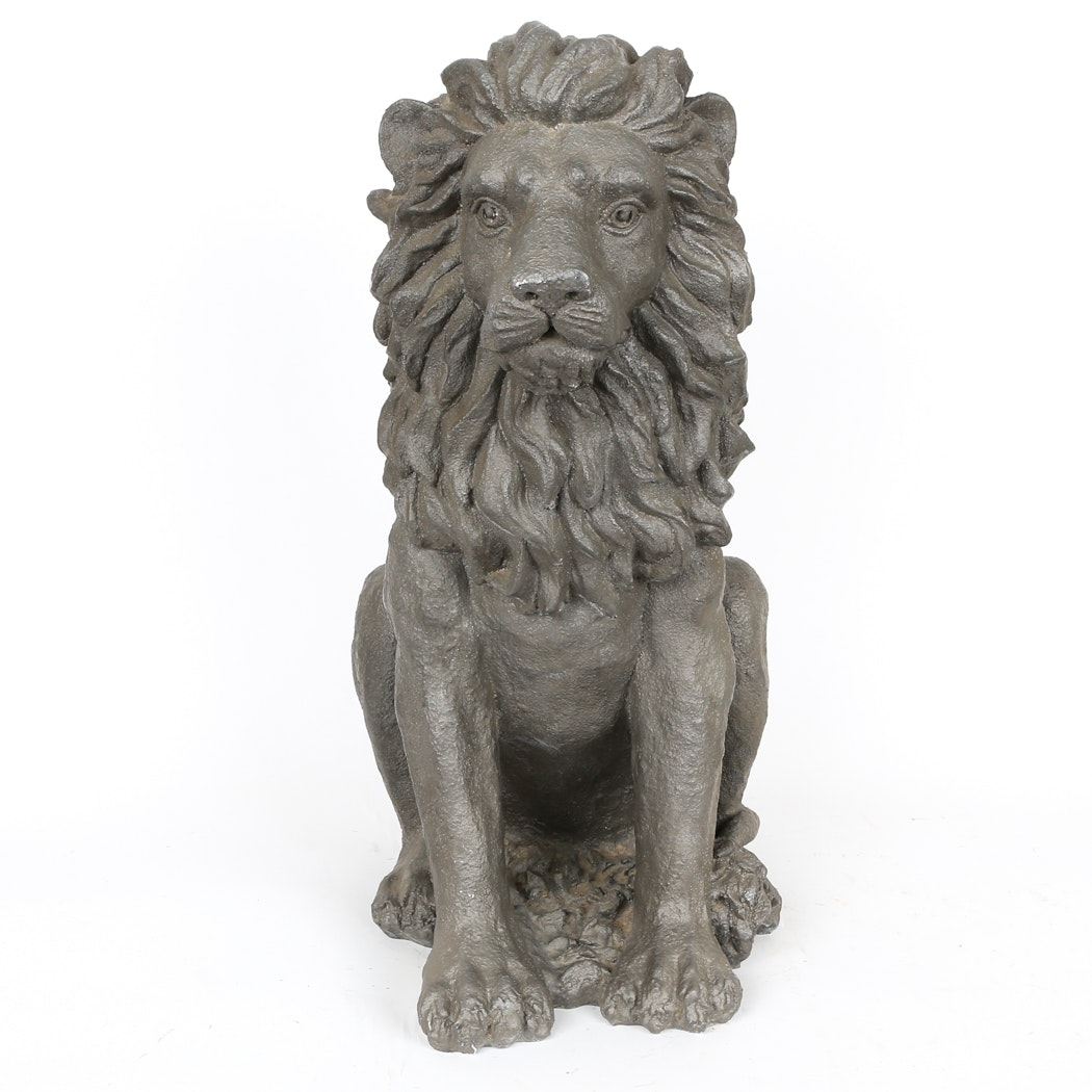 Outdoor Lion Statue ...