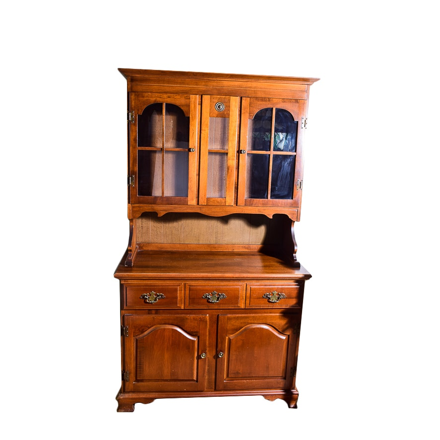 Sideboard with China Hutch