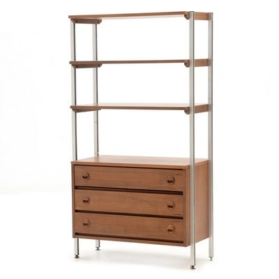"Stanley ""Design 21"" Open Shelf-on-Chest"