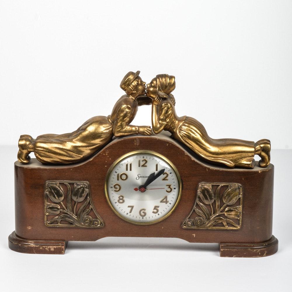 Vintage Sessions Mantel Clock