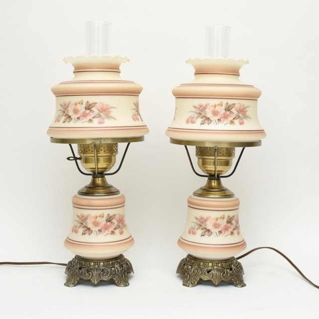 """Gone with the Wind"" Style Table Lamps"