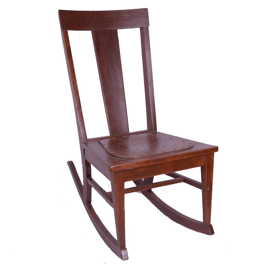 Antique Sewing Rocking Chair ... - Antique Sewing Rocking Chair : EBTH