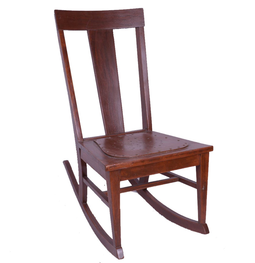 Antique sewing rocking chair - Antique Sewing Rocking Chair