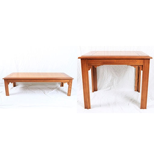"""Virginia Maid"" Coffee Table and End Table by Lane"