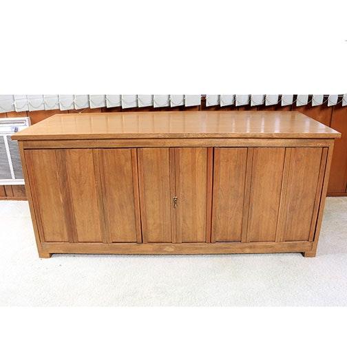 Vintage Three Door Cabinet