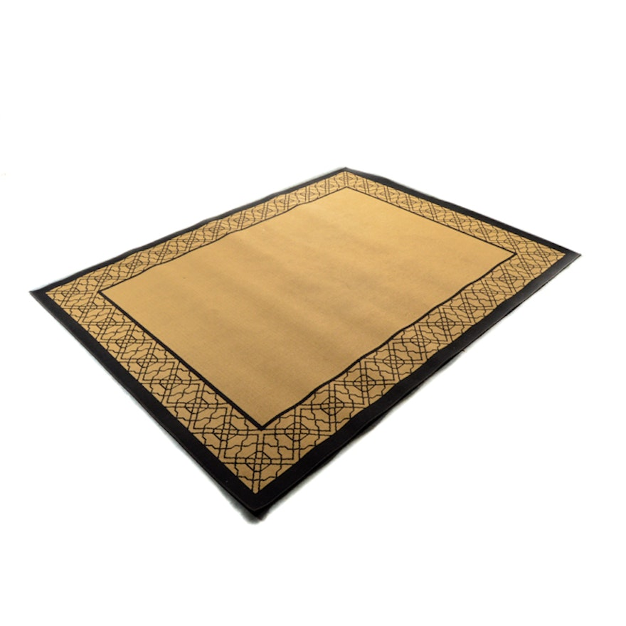 Better Homes And Gardens Black Bamboo Outdoor Rug Ebth