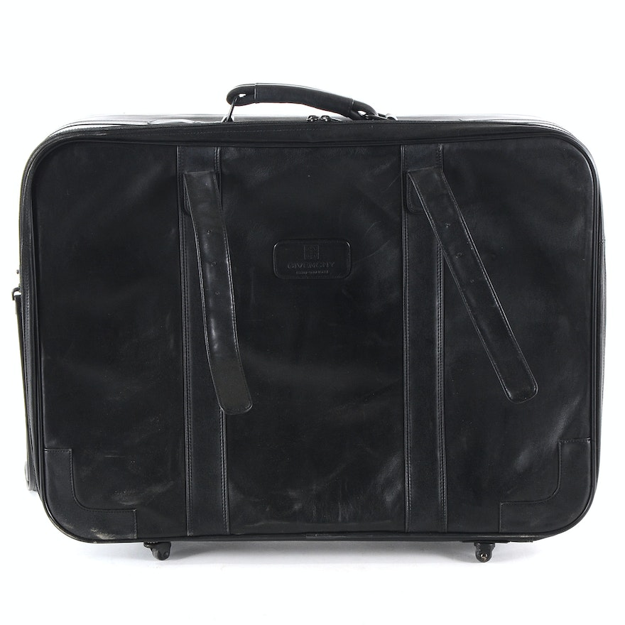 f4668f3d1e40 Givenchy Leather Suitcase   EBTH