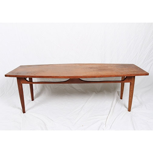 Handmade Mid Century Modern Coffee Table