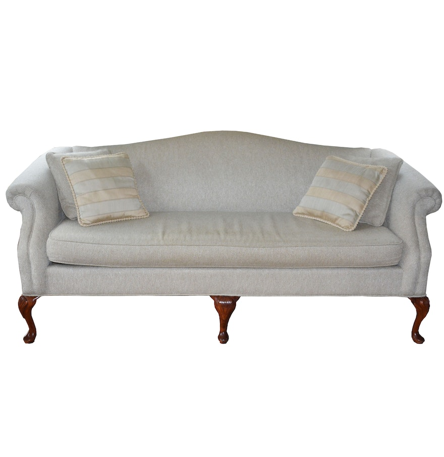 Queen Anne Camel Back Sofa Slipcover Mjob Blog