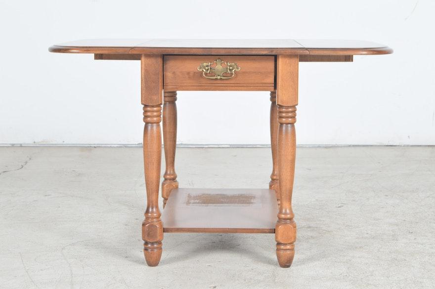 Moosehead Of Monson Maine Maple Pembroke Style End Tables
