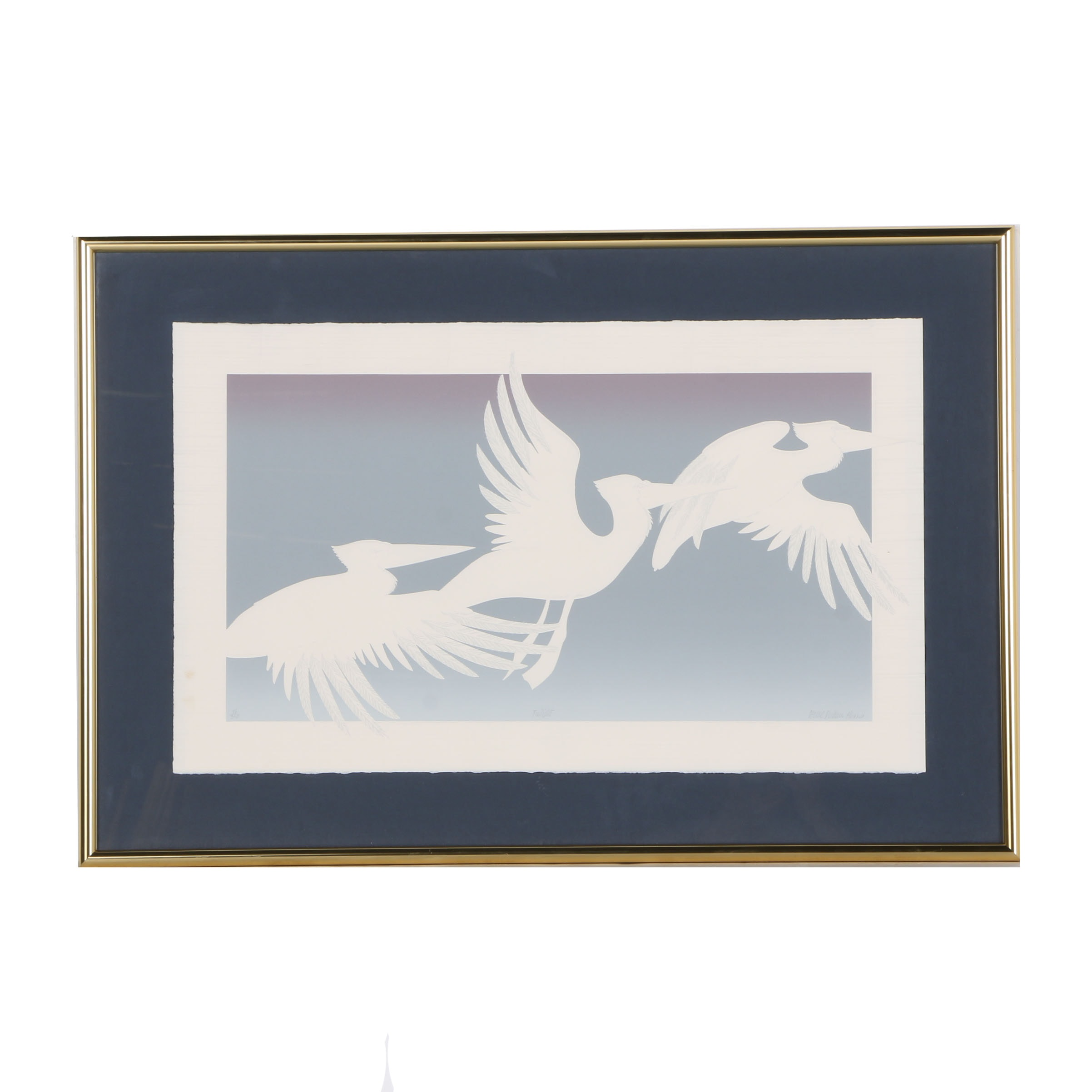 "Denise Harris Limited Edition Serigraph ""Twilight"""