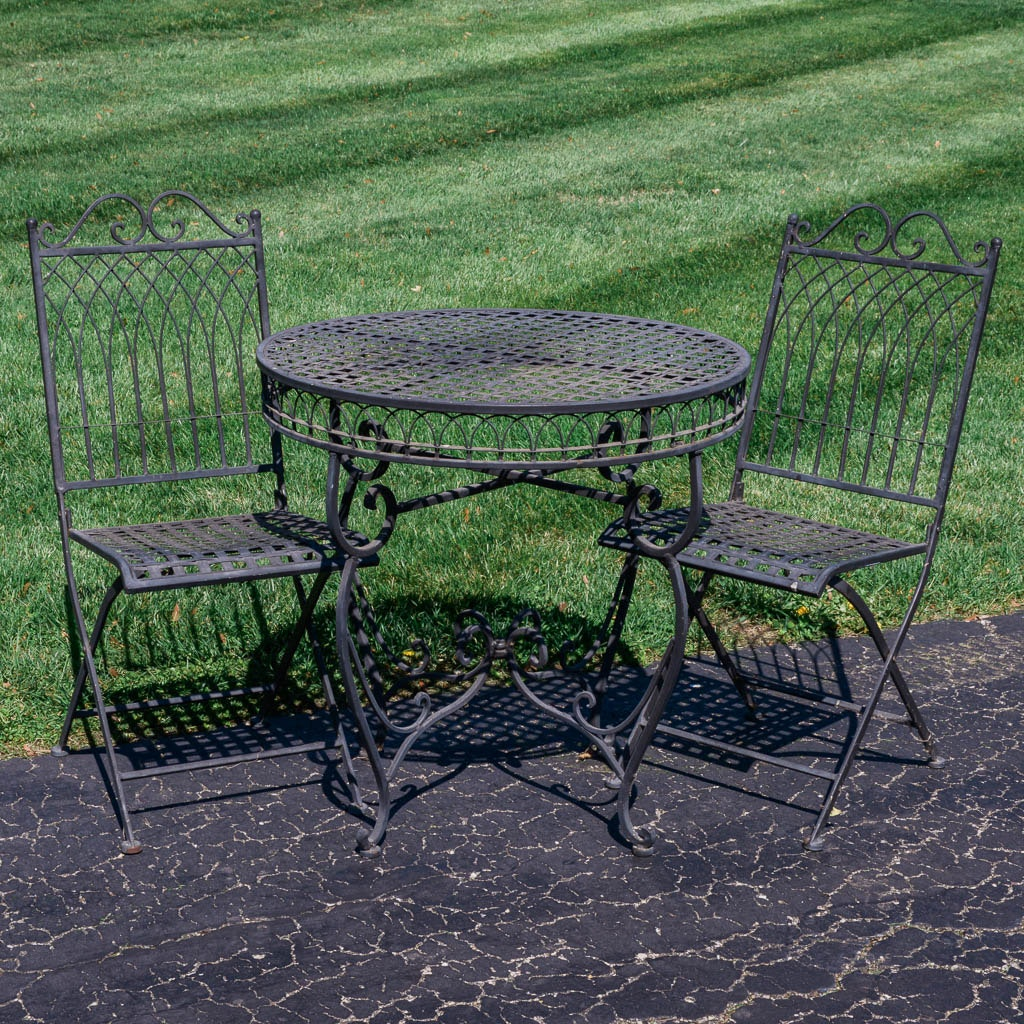 wrought iron patio furniture - Wrought Iron Patio Chairs
