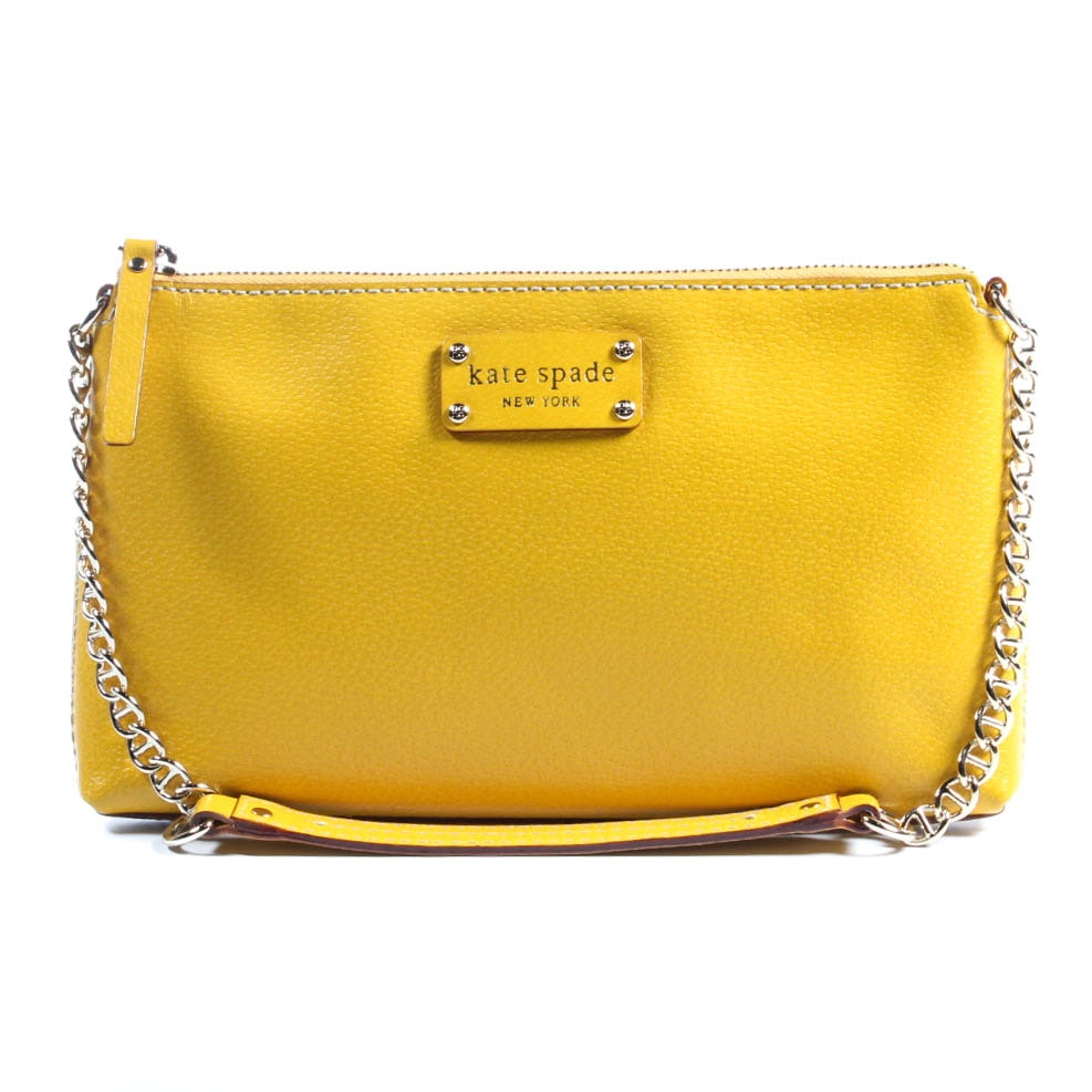 Kate Spade Byrd Wellesley Leather Shoulder Bag