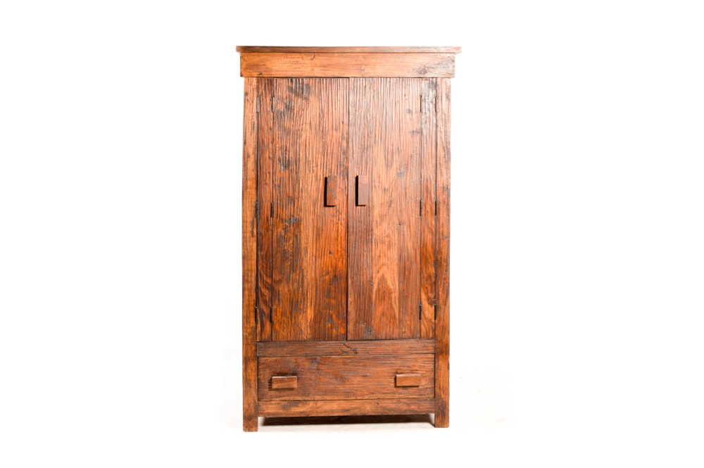 Rustic Entertainment Armoire