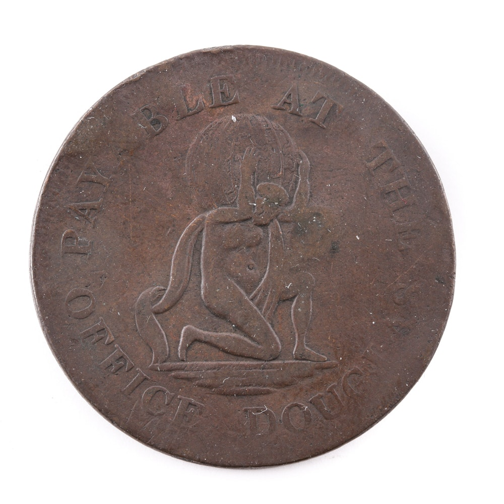 1811 Isle of Man Manks One Penny Token