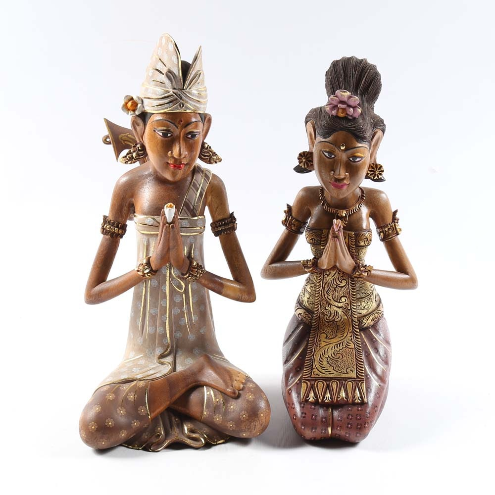 Balinese Wooden Figures