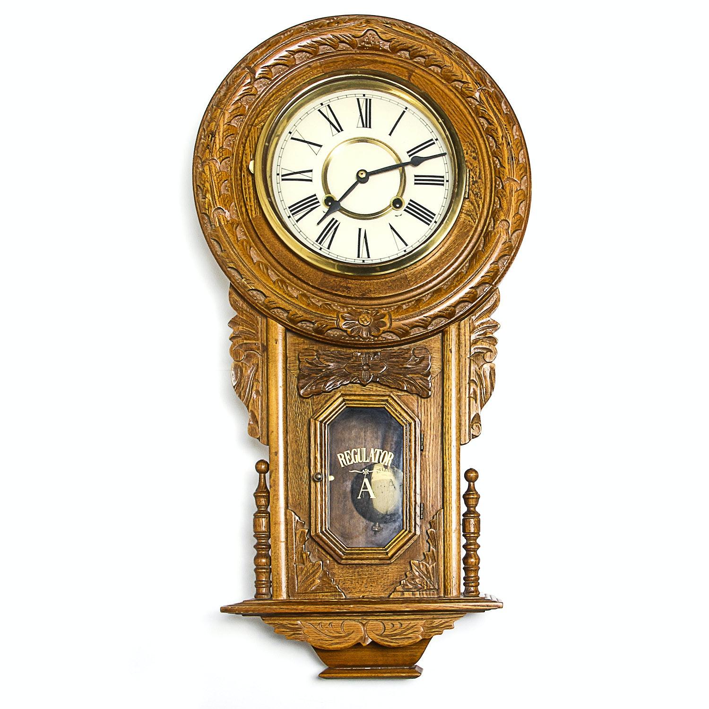 """""""Regulator A"""" Wall Clock"""