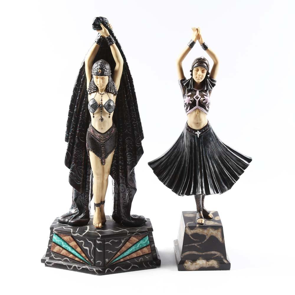 Art Deco Style Figurines