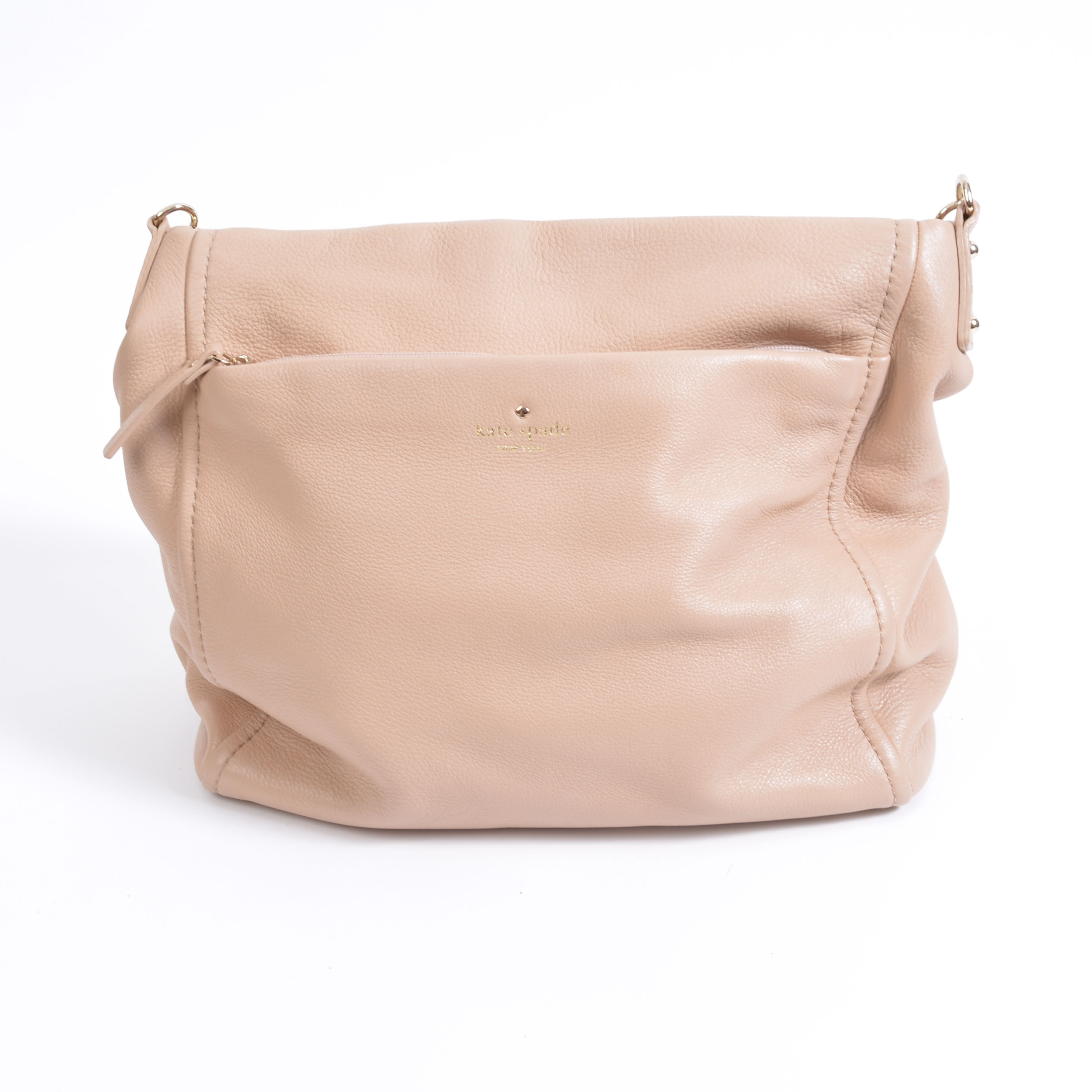 Kate Spade Beige Leather Handbag