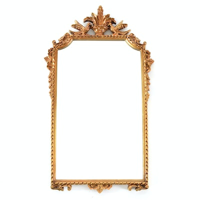 Vintage mirrors auction antique wall and floor mirrors for Baroque resin mirror