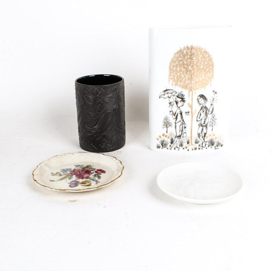Rosenthal Vases And Plates Ebth
