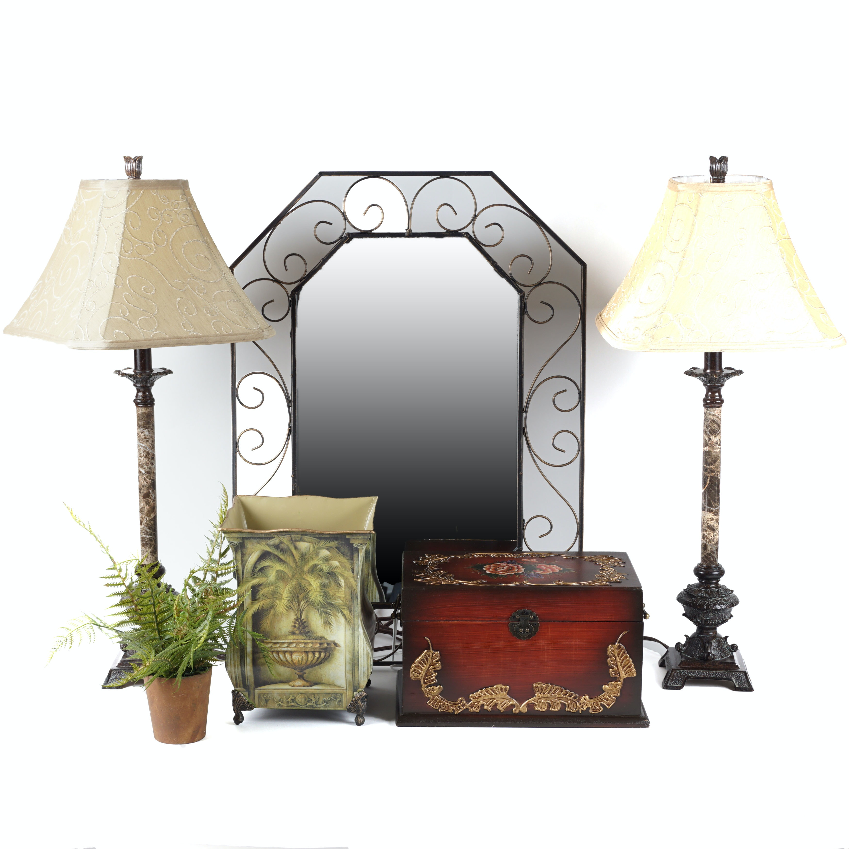 wall mirror and home decor ebth