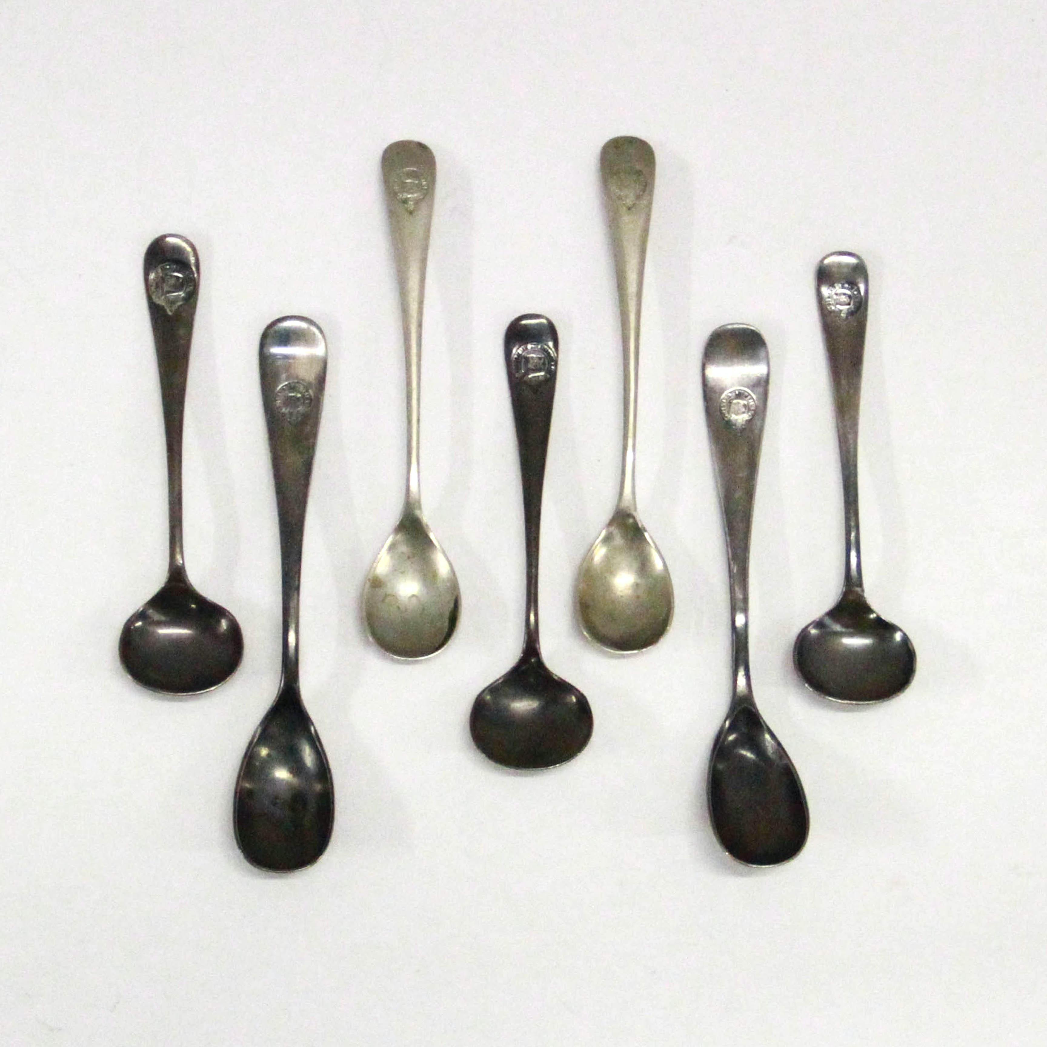 Walker & Hall Silver Plate Spoons