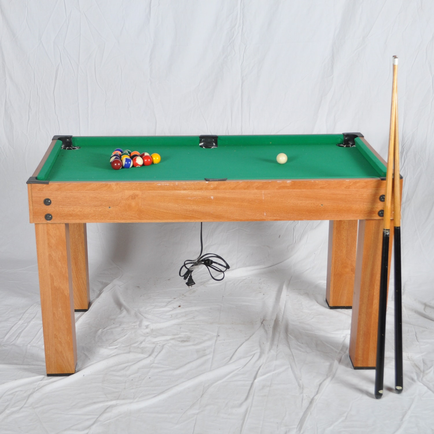 Miniature Pool Table with Game Accessories