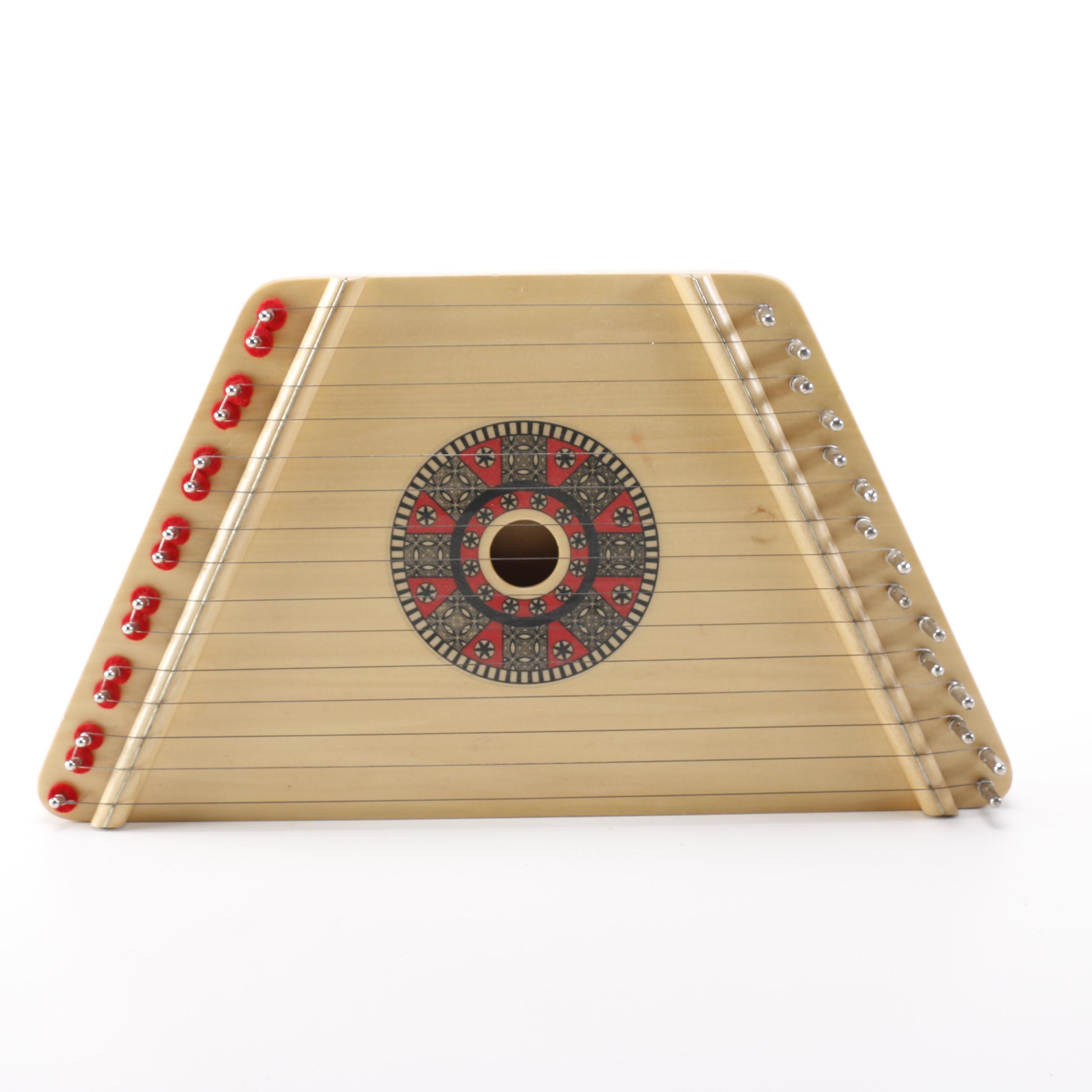 Handmade Romanian Lap Harp