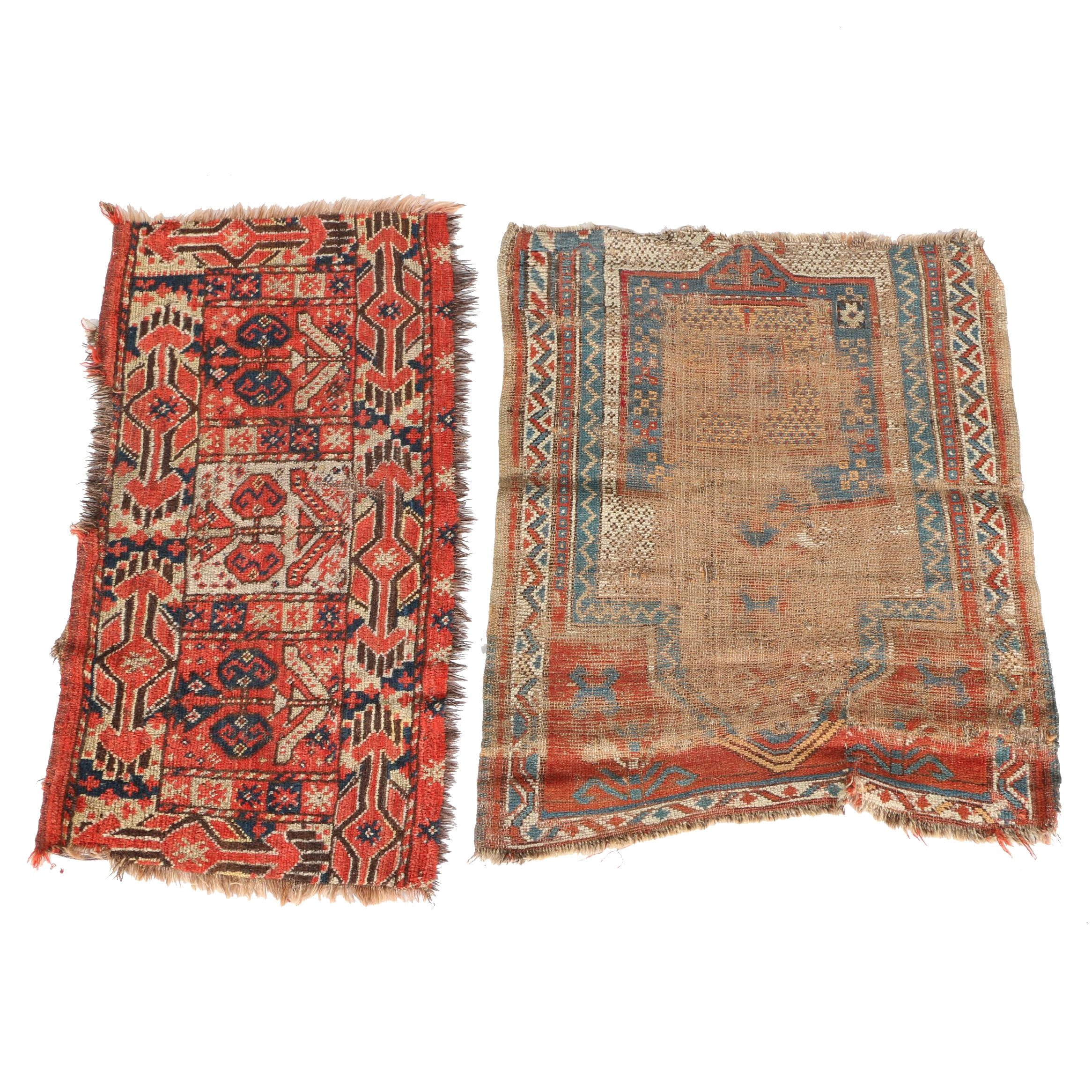 Hand-Knotted Antique Wool Rugs