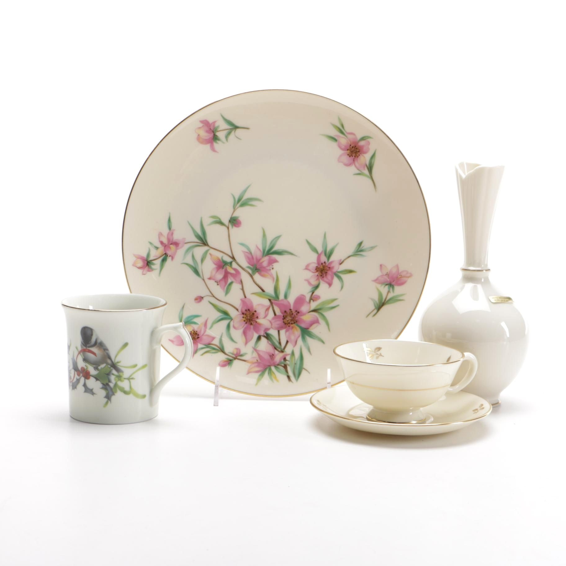 Assorted Lenox China Tableware