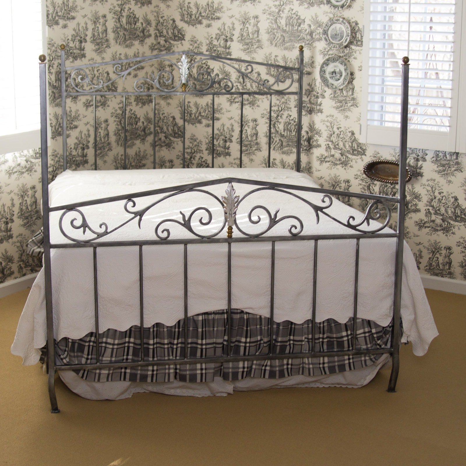 Four Poster Queen Bed Frame