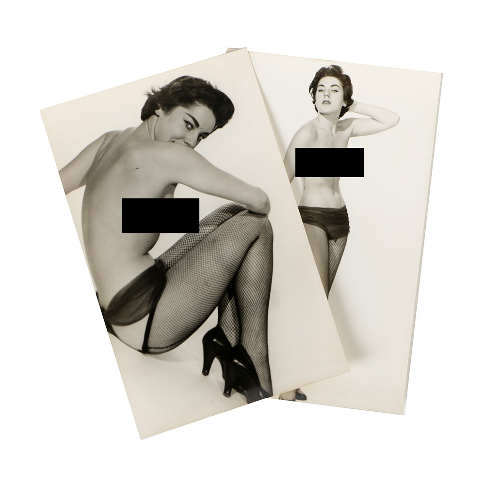 """1950s """"Cheesecake"""" Pin-up Photos by Harrison Marks"""