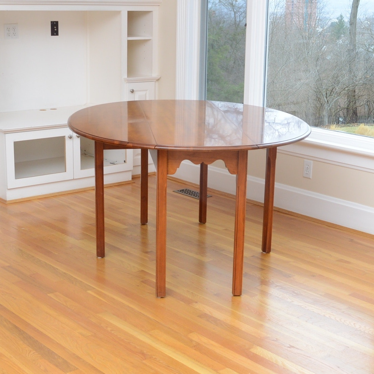 Drop Leaf Cherry Dining Table