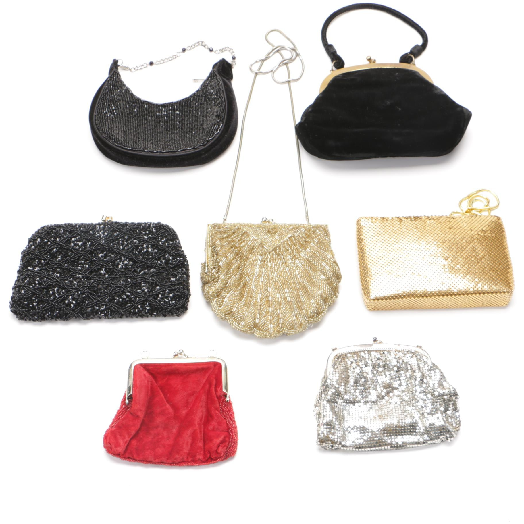 Evening Purses Including Vintage and Contemporary