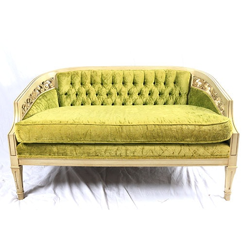 French Provincial Style Settee by Ecker-Shane