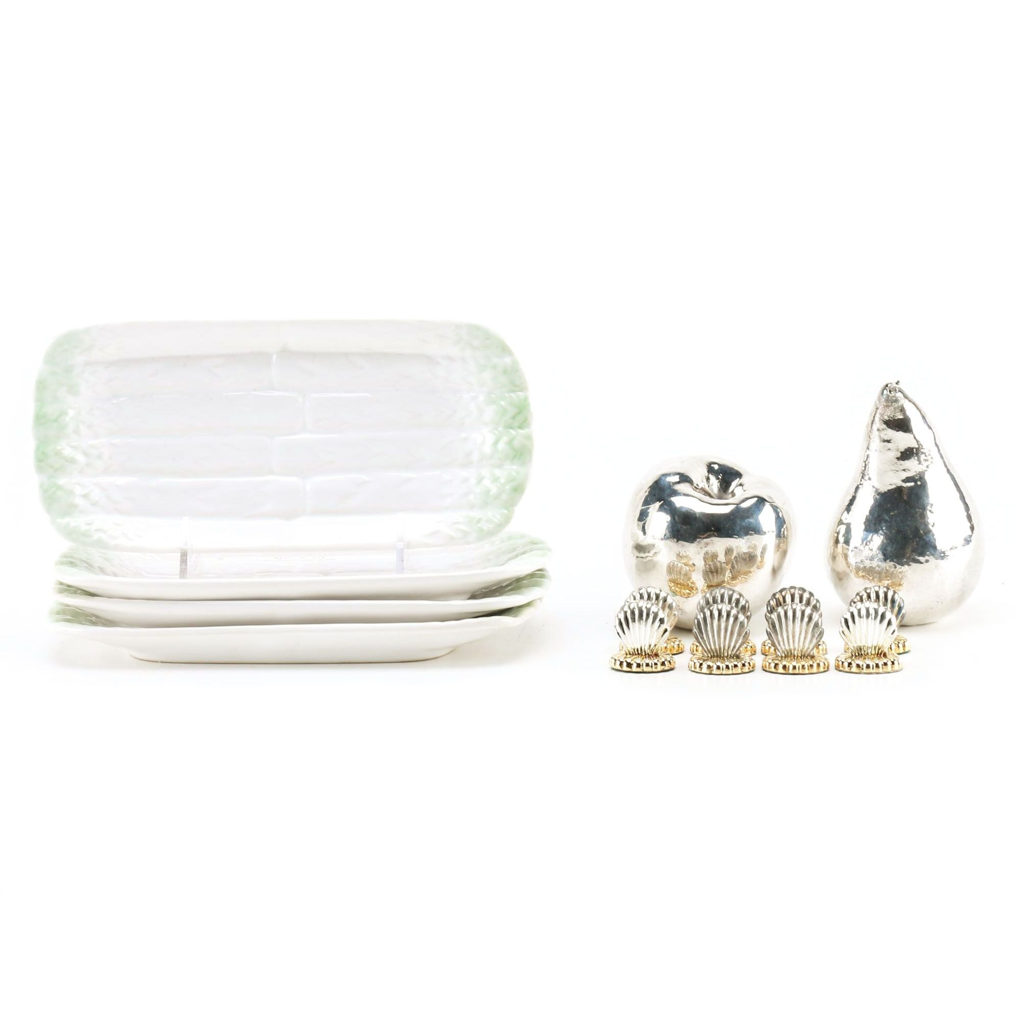 Table Accessories for Entertaining Including Bordallo Pinheiro From Portugal