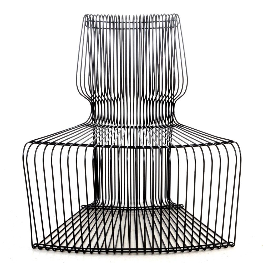 """Pantonova"" Wire Side Chair Designed by Verner Panton"