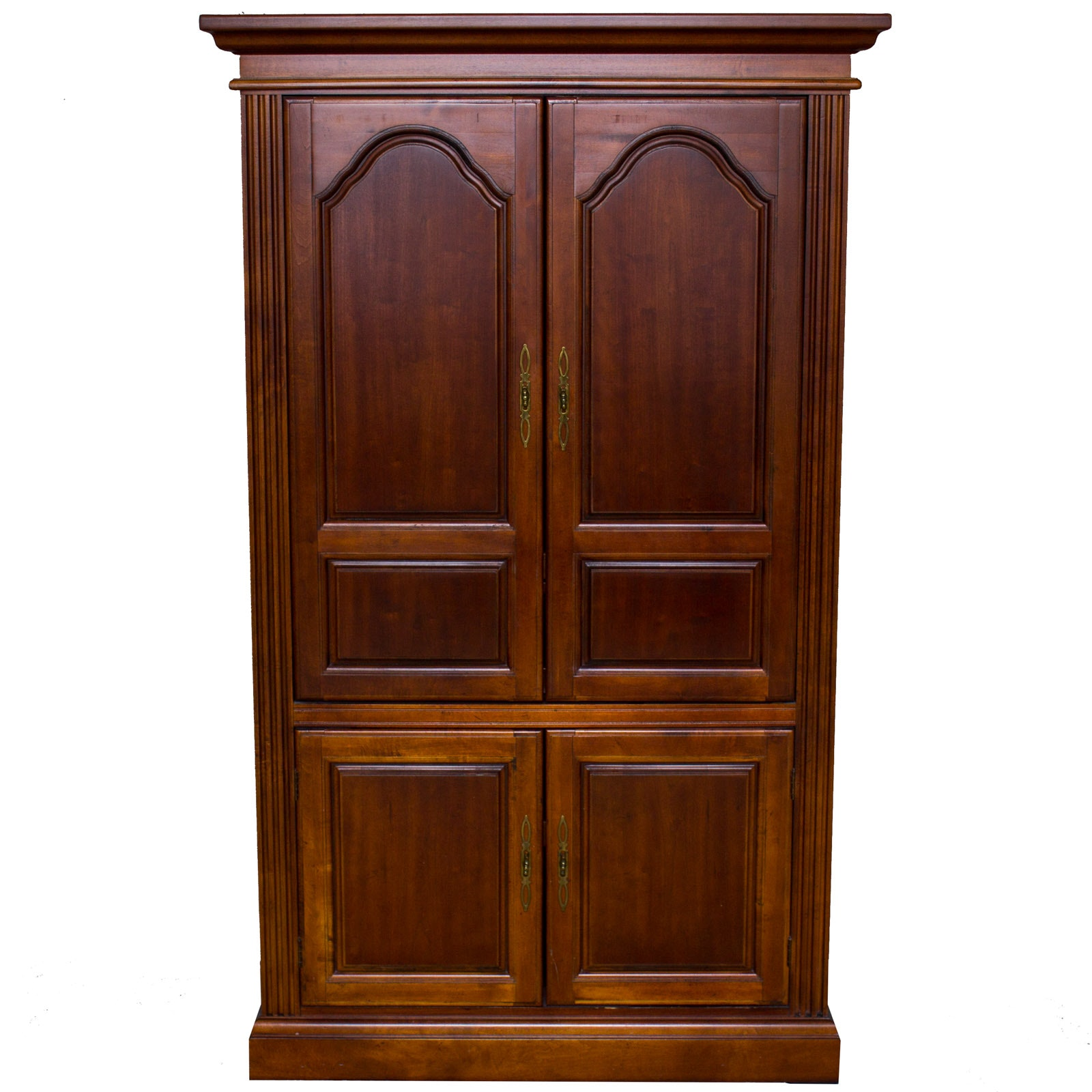 Cherry Television Armoire