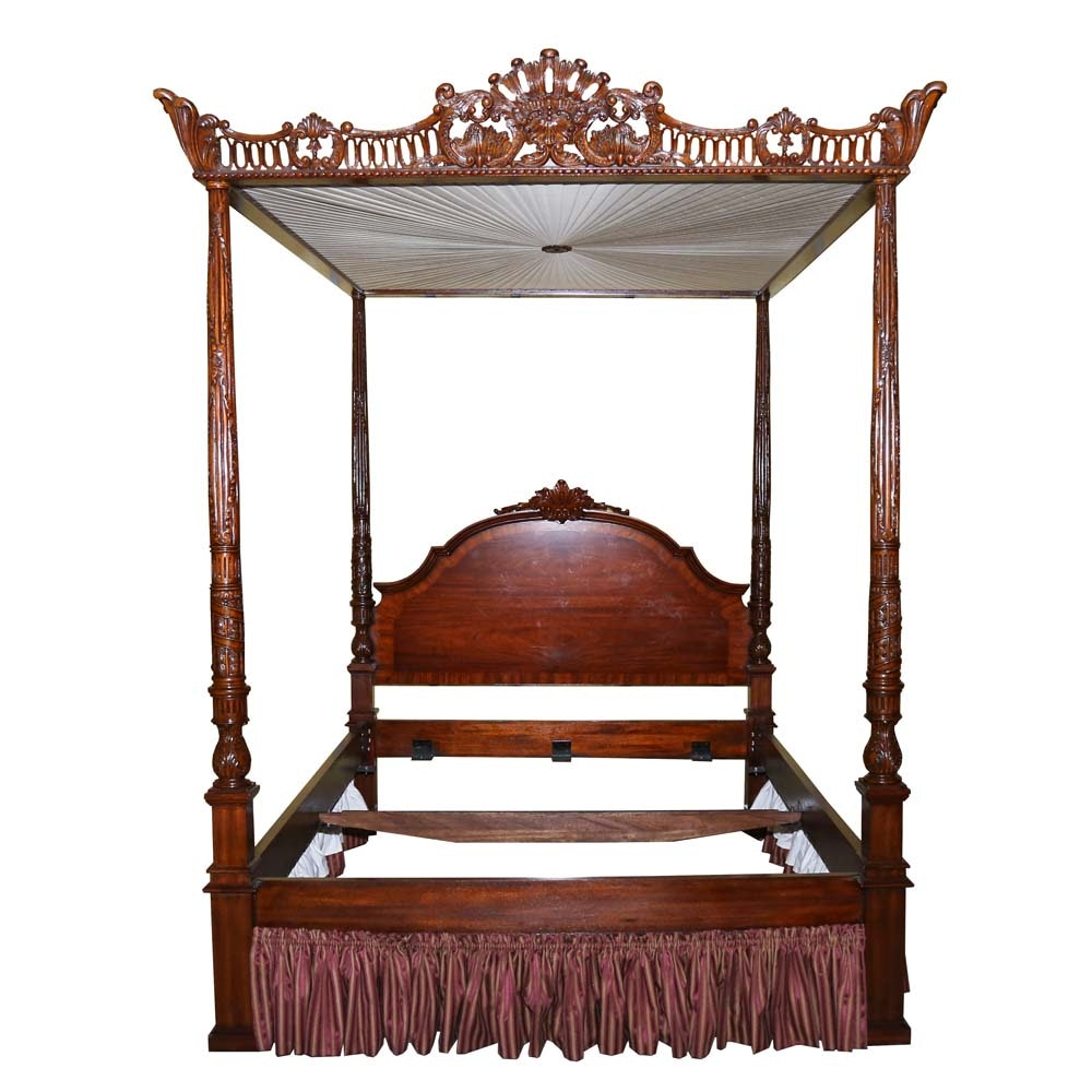 Maitland-Smith King Size Tester Bed