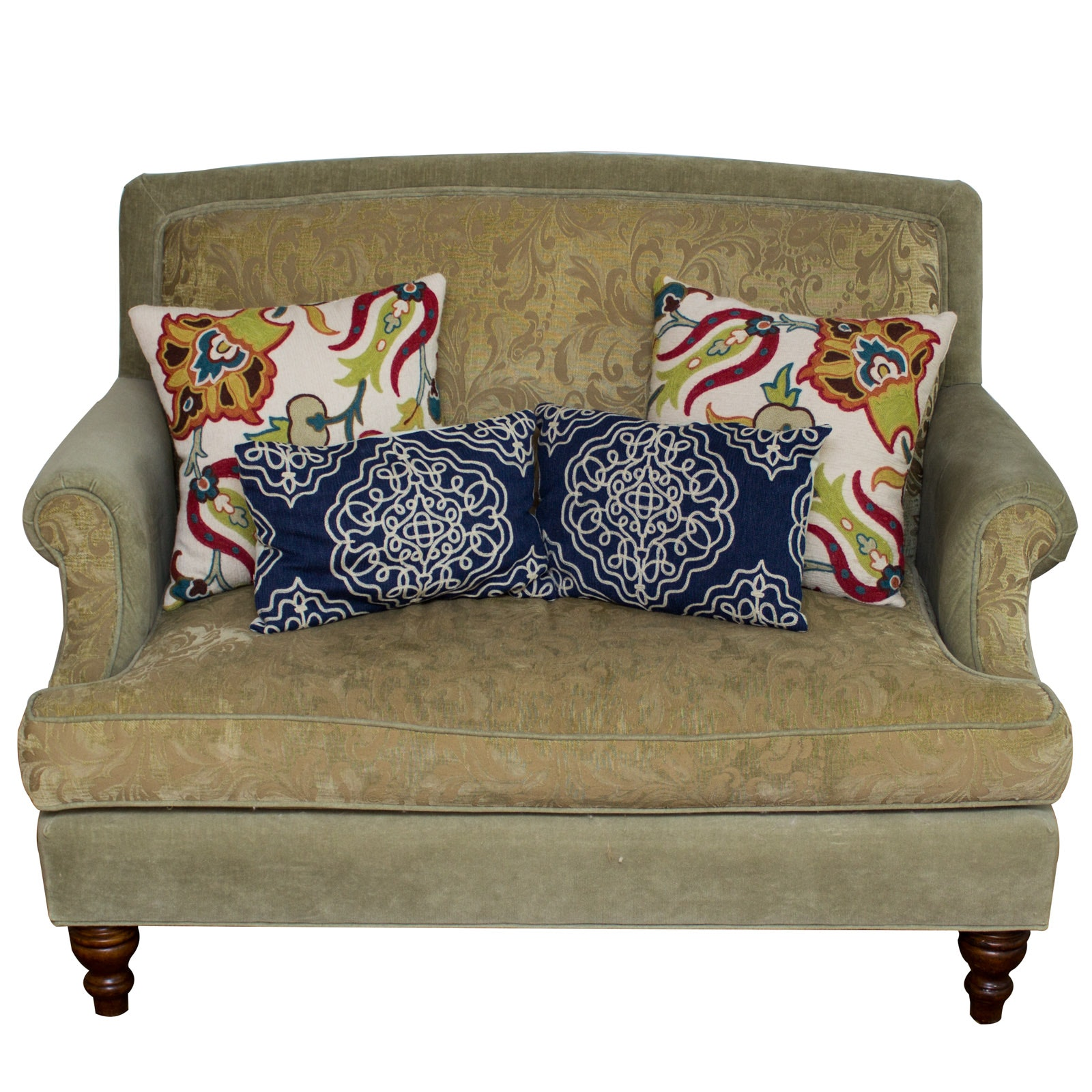 Velvet Love Seat by Southern Furniture Co.