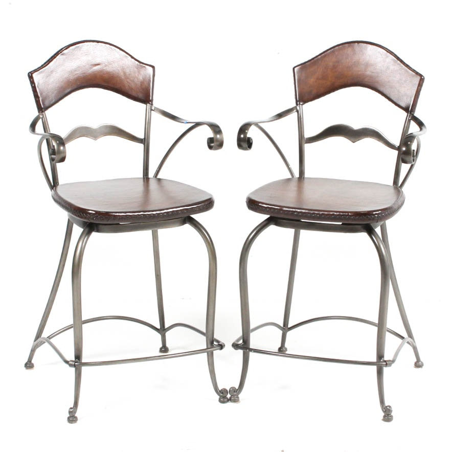 Frontgate Swivel Bar Chairs
