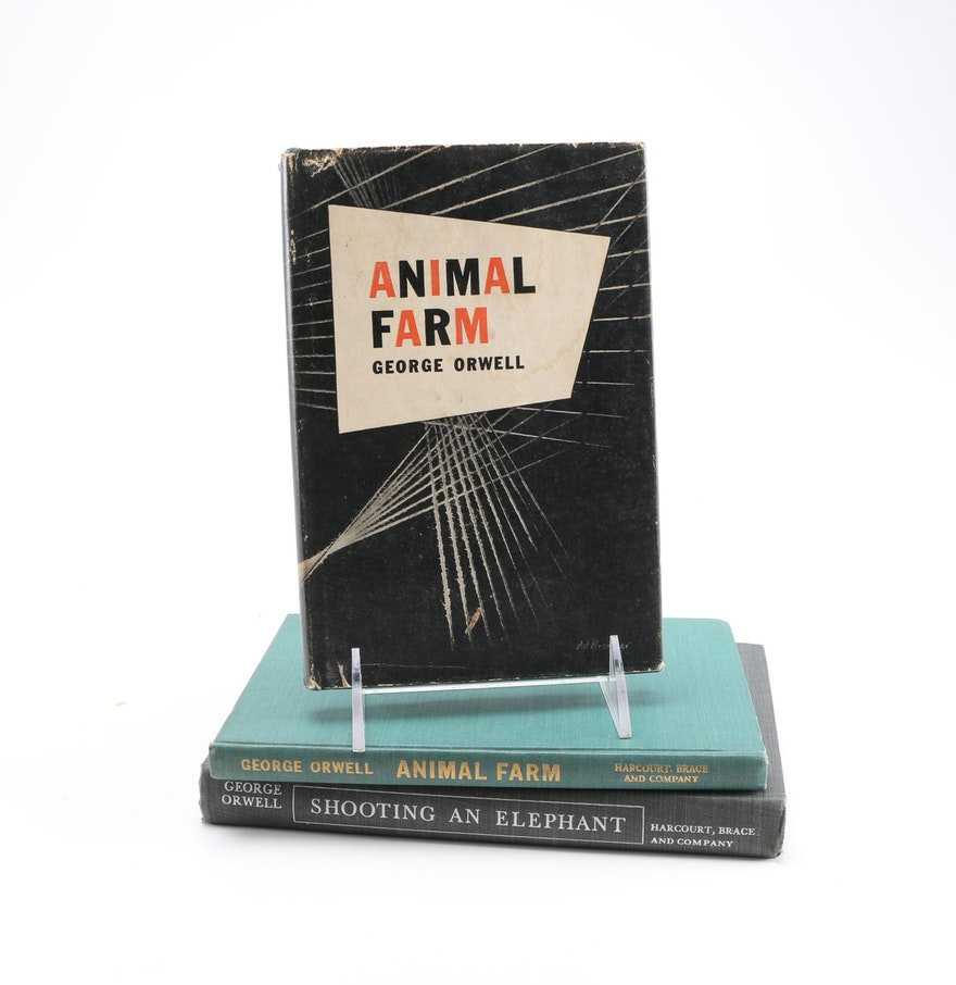 early editions of animal farm and shooting an elephant and early editions of animal farm and shooting an elephant and other essays