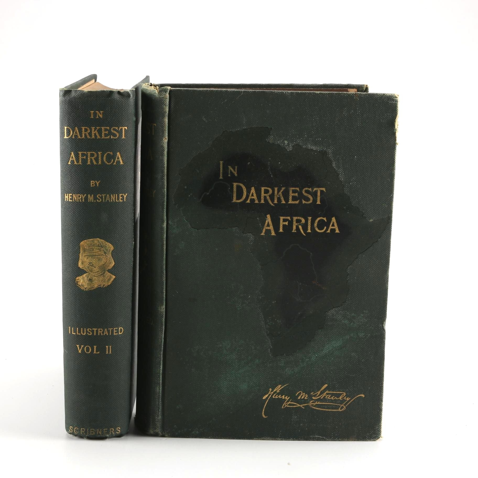 "1891 Henry M. Stanley ""In Darkest Africa"" in Two Volumes"